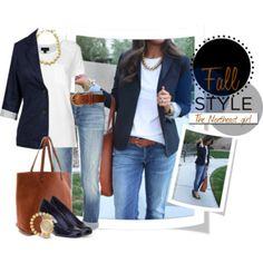 Blogger style: jeans, tee & blazer