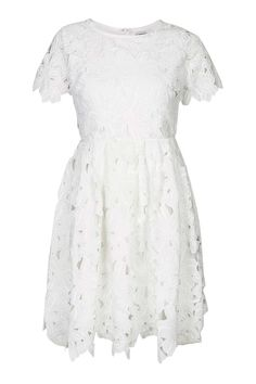 **Lace Floral Cut-Out Dress by Glamorous