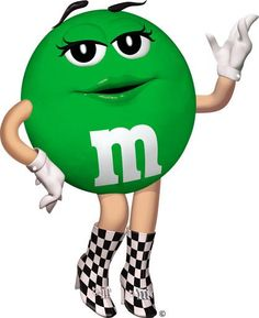 Ms green =} on Pinterest | Green M&ms, Green and Cinema Posters