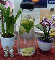 Detox-Wunder, Schlankwasser mit Abnehmgarantie - oder einfach nur Ingwerwasser. Erfrischend, leicht bekömmlich, magenberuhigend und regt den Stoffwechsel an.
