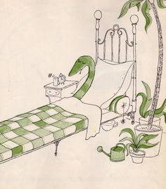 Crictor se repose by Tomi Ungerer
