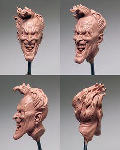 Tim Bruckner joker heads