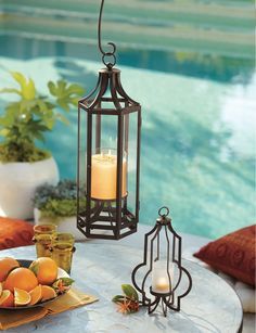 Fun Ways To Decorate With Lanterns #PartyLiteMagazine