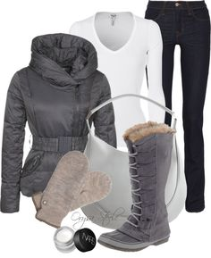 """""""Deep Freeze"""" by orysa on Polyvore ... Simple Style Outfit Pieces Collections: http://pinterest.com/maddie2626/simple-style/"""