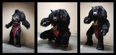 Larp werewolf costume by BIGBUBBASSTUFF