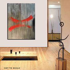 Custom Abstract Mixed Media Painting by Kim Bosco by MAUSART, $950.00