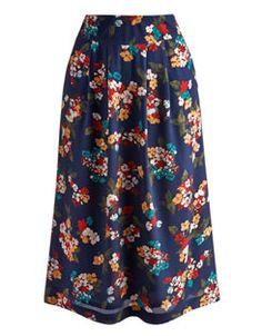 HEPBURY Womens Midi Skirt