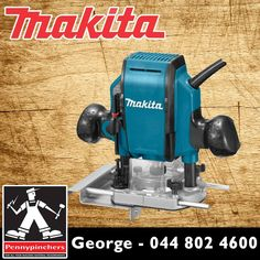 Become the Makita Specialist, with these wonderful deals, such as Makita Router 900 Watt RP0900 only R1295! Available from Pennypinchers George #makita #specials #gardenroute