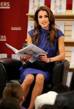 Rainha Rania da Jordânia fatos aniversário - Foto 3 | notícias de celebridades em hellomagazine.com
