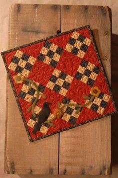 cute little nine patch would look great in Jo Morton fabrics!