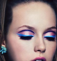 Most popular tags for this image include: girl, make up, believe, wish and color
