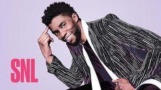 Chadwick Boseman Wins Black Jeopardy as T'Challa on a Disappointing 'Saturday Night Live' Beautiful Soul, Black Is Beautiful, Gorgeous Men, Beautiful People, Kate Mckinnon, Saturday Night Live, Snl, Black Panther Chadwick Boseman, Man Crush Everyday