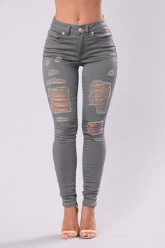 Women Jeans Outfit Work Pants For Women Vintage Dresses Online Black Gym Leggings Push Up Jeans Work Shorts Jeans And Heels Outfit – orchidrlily Cute Ripped Jeans, Sexy Jeans, Distressed Skinny Jeans, Women's Jeans, Torn Jeans, Black Gym Leggings, Vintage Dresses Online, Perfect Jeans, Jeans Material
