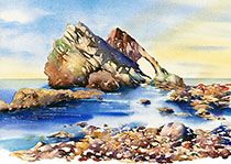 Jonathan Wheeler, watercolour artist based in Findhorn Scotland, specialising in Scottish castles and scenes including Edinburgh. Limited edition and signed edition prints for sale - commissions undertaken. Scottish Castles, Watercolor Print, Prints For Sale, Watercolours, Larger, Artist, Outdoor, Image, Art