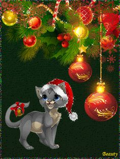 Новогодняя - анимация на телефон №1303055
