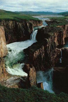 Wilberforce Falls, near Nunavut, NU, Canada