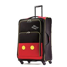 American Tourister Disney Mickey Mouse Pants Softside Spinner 28 * Check this awesome product by going to the link at the image.