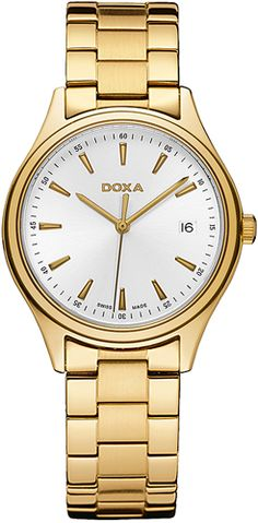 Doxa 211.30.021.11 Fine Watches, Gold Watch, Over The Years, Omega Watch, Product Launch, Dress Watches, Traditional, Wristwatches, Christian