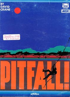 Pitfall! by Activision/Ponyca (front). Japanese version.