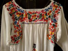 Collector's Quality Huipil Dress  Rare  by TradewindsFolkArt