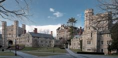 Princeton University in Princeton, NJ University Dorms, Princeton University, Princeton Campus, Dream School, College Campus, Law School, Places To Go, International Relations, Ivy League