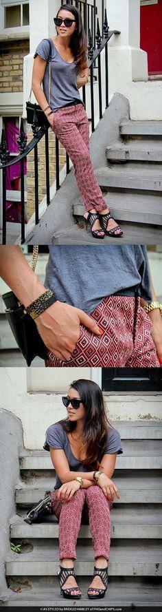 Cool style ~ Black Beaded Bracelet