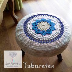 Taburete Posapié Soñarte. www.sonarte.cl