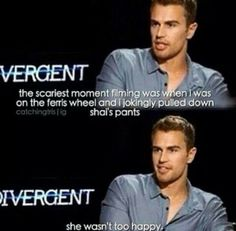 SHEO FOR LIFE~Theo James