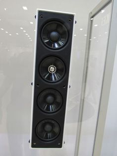 Looking for an affordable in-wall speaker for your custom designed home theater? We saw KEF& new in-wall speaker at the 2016 CEDIA EXPO and were impressed by its great sound. Read on. Best Home Theater System, Home Theater Setup, Home Theater Speakers, Home Theater Design, Home Theater Seating, Home Cinema Projector, Home Cinema Room, Home Theater Projectors, Home Automation System