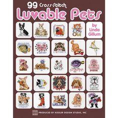 Leisure Arts-99 Cross Stitch Luvable Pets