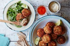 Gluten-free crab cakes | Tesco Real Food