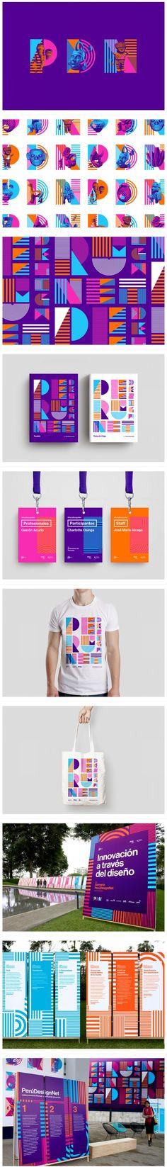 Peru Design Net精美的活动... Branding logo design publication event design signage…: