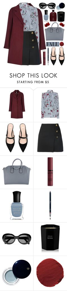 """♥︎ Fall / Autumn ♥︎"" by mylkbar ❤ liked on Polyvore featuring Valentino, Yves Saint Laurent, Givenchy, NYX, Deborah Lippmann, Christian Dior, Acne Studios, Oribe, Tom Daxon and Clé de Peau Beauté"