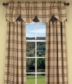 living room curtain idea from Country Curtains