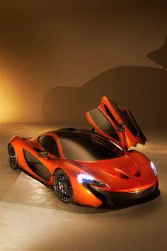 Visit The MACHINE Shop Café... (Best of McLaren @ MACHINE) Orange McLaren P1 Supercar