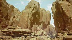 Arid Desert by Tris Baybayan in Environments - UE4 Marketplace