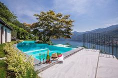 luxury outdoor living at Villa Moltrasio, Lake Como