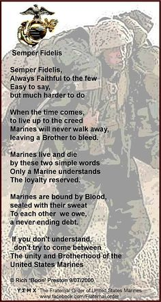 """#Marines #SemperFi Thank You for being """"the few, the proud, the MARINES""""."""