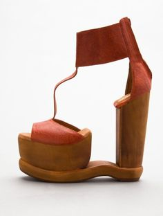Jeffrey Campbell... Always has the most incredible shoes... Looks like art