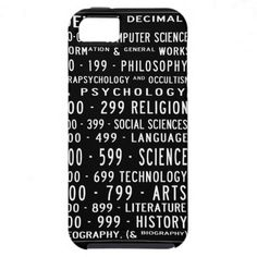 Dewey Decimal iPhone case iPhone 5 Covers