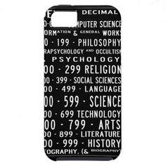 Dewey Decimal iPhone case iPhone 5 Covers