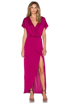 548c8b33485 Shop for Lovers + Friends Seneca Maxi Dress in Berry at REVOLVE. Free day  shipping and returns