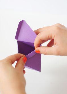 DIY Geo Favor Boxes