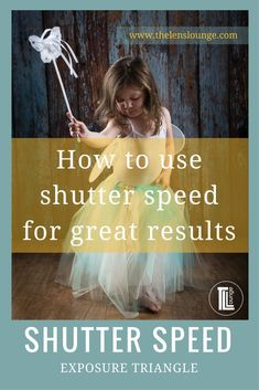 Easy to understand explanation of how shutter speed affects exposure. Take control of your camera to produce consistently well exposed images. Click through to read the full tutorial on shutter speed and the exposure triangle. #photography #phototips #exposure #shutterspeed