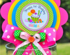 Fiesta de cumpleaños de Candyland de Candyland por thepaperkingdom
