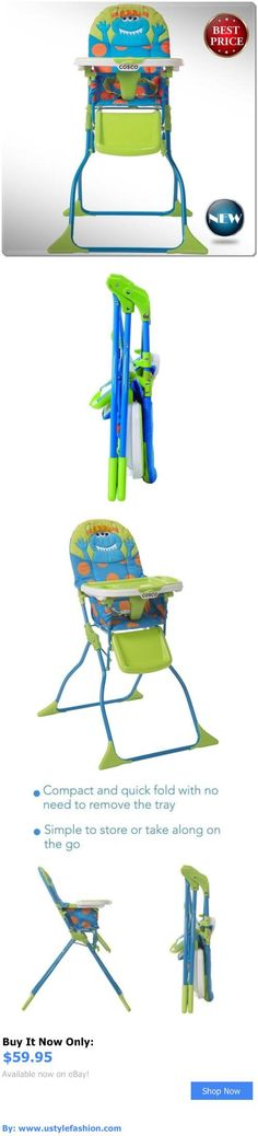 Baby High Chairs: Convertible High Chair Baby Booster Toddler Feeding Folding Highchair Fold Seat BUY IT NOW ONLY: $59.95 #ustylefashionBabyHighChairs OR #ustylefashion