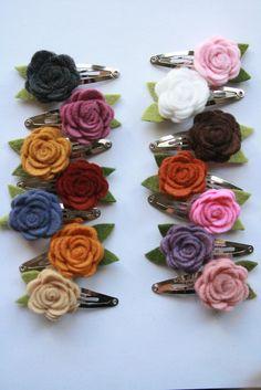 itty bitty rosies clippie