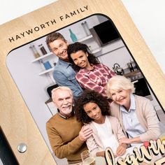 Thanksgiving Recipes Hardwood Photo Recipe Book - Personalizable - Add Personalization / Maple / Light