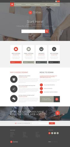 Domax Hosting Company #website #template. #themes #business #responsive