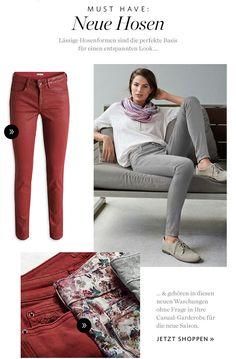 Esprit Grey Skinny Jeans, Suits, How To Wear, Fashion, Spirit, Cloakroom Basin, Moda, Fashion Styles, Gray Skinny Jeans